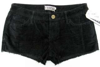 ROXY Juniors Vintage Cord Short Corduroy Cut Off Shorts NWT $36