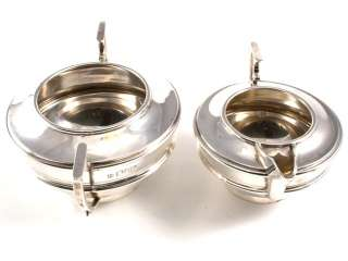 Art Nouveau Sterling Silver Tea Set 1912