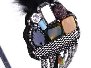 Bead 1920s Western Flapper Inspired Feather Headband Hair Piece