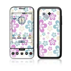 HTC Dream, T Mobile G1 Decal Skin   Flowers in the Air