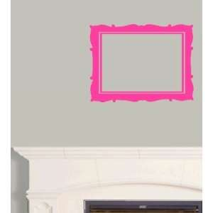 StikEez Pink Picture Frame Art Wall & Window Decal
