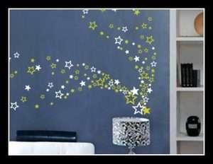Bedroom Bathroom Kitchen Wall Art Window Stickers Kids Decals