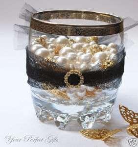 ROUND Gold Wedding Invitation Rhinestone Crystal Buckle