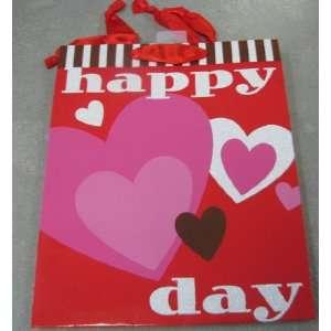 Valentines VBG1006 Medium Happy Hearts Day Gift Bag