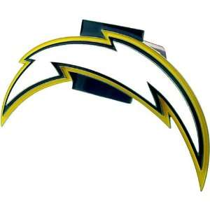 Chargers NFL Pewter Logo Trailer Hitch Cover