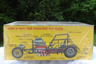 AMT DRAGGIN FLY HORNET FUNNY CAR AMC MODEL KIT NO. T358 225 NEW