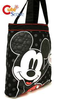 Disney Mickey Mouse Quilted Leather Tote Bag  Loungefly