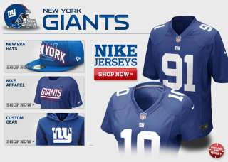 New York Giants Apparel   Giants Gear, Giants Merchandise, 2012 Giants