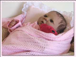 Gorgeous Baby Girl, Hand Made Dress So Real Reborn Baby Girl no Animal