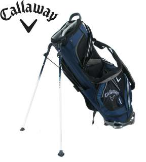 CALLAWAY X 22 STAND GOLF BAG BLACK/NAVY NEW IN BOX & FREE GROUND