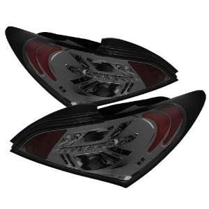 2010 2011 2012 Hyundai Genesis 2Dr LED Tail Lights   Smoke