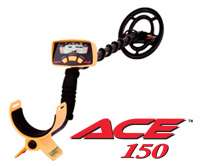 Garrett Ace 150 with Free Shipping, Dvd, Guide, + More