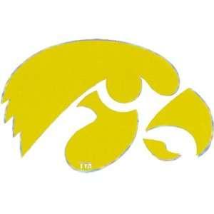 Iowa Hawkeyes Team Logo Decal: Automotive