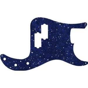 Ocean Blue Sparkle Glitter P Bass Standard Pickguard