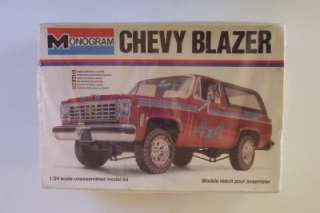 4x4 Chevy Blazer 2238 Monogram 124 VINTAGE Kit SEALED