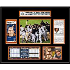 San Francisco Giants 2010 World Series Champions Ticket