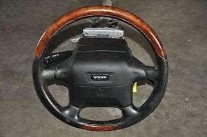 95 96 97 VOLVO S90 960 STEERING WHEEL COLUMN OEM