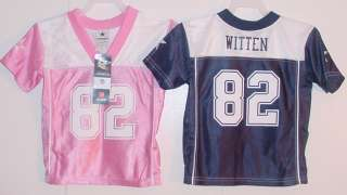 NWT JASON WITTEN 82 Dallas Cowboy Jersey Boy Girl 2T XL
