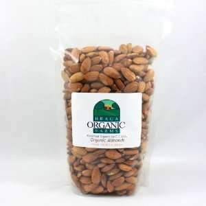 Braga Organic Farms Organic Natural Almonds 2 lb. bag