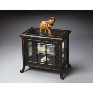 0339250 Masterpiece Collection Side Chair Curio Cabinet in