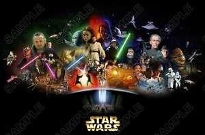 Star Wars Shirt Iron on Transfer #4