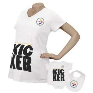 Reebok Pittsburgh Steelers Womens Moms Tiny Kicker