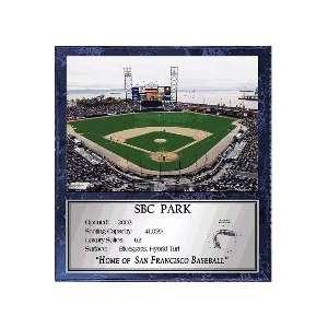 SBC Park (San Francisco Giants) 12 x 15 Plaque with 8 x 10 Stadium