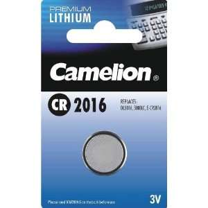 Camelion Cr2016 Lithium 3v Coin Cell Battery Dl2016