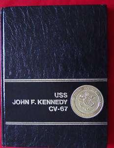 USS JOHN F. KENNEDY CV 67 1980 1981 USN CRUISE BOOK