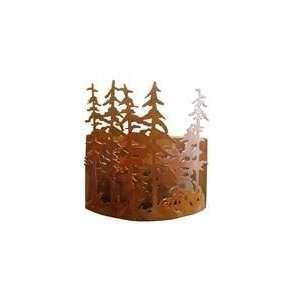 Meyda Tiffany Custom Lighting 98514 Tall Pines 2 Light ADA Wall Sconce