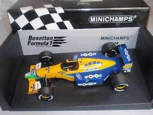 18 Minichamps Michael Schumacher Benetton B191 1991