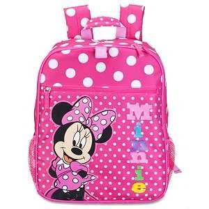 Disney Minnie Mouse Maus Pink Schulranzen, Backpack Rucksack NEU super