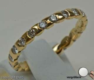 Memoryring Gold Ring Ringe 18 Kt 750 Gold Wempe Markenring Brillanten