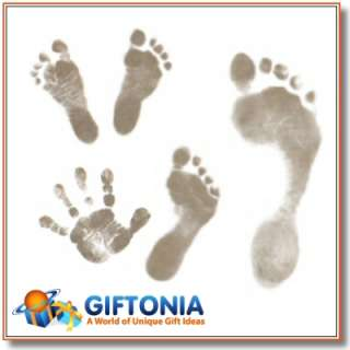 Inkless Wipe Baby Handprint & Footprint Keepsake Kit