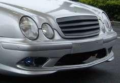 Mercedes Grill Kühlergrill CLK W208 SCHWARZ Brabus AMG