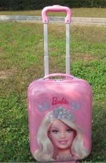 Barbie Doll figure Luggage Bag Trolley Troller Roller handbag 16 43cm