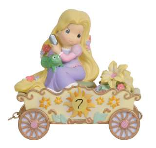 PRECIOUS MOMENTS DISNEY PRINCESS BIRTHDAY TRAIN PRINCESS TANGLED