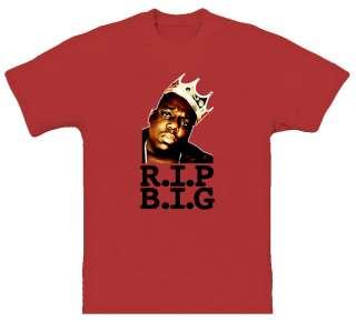 Biggie Smalls Hip Hop Tribute T Shirt