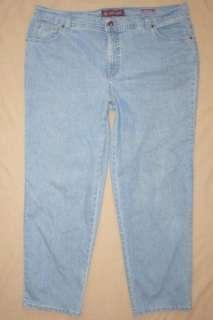 Womens Gloria Vanderbilt plus size 20W stretch Amanda Jeans