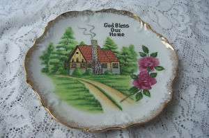 God Bless Our Home Wall Plaque 8 Collector Plate