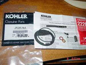 Kohler Carburetor Throttle Shaft Kit John Deere 314 316