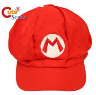 Nintendo Super Mario Custume Hat Cosplay Cap Cotton 1
