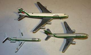 Vtg ALITALIA ITALY ITALIAN AIRLINES Toy Airplane Lot