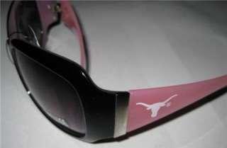 PINK Texas Longhorns Womens Fashion Sunglasses HOOK EM