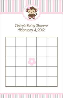 24 Cocalo Jacana Soft Pink Baby Shower Bingo Cards