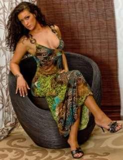 Maxi SommerKleid Edel Hippie Style Kleid Gr. 34,36,38      MK 25