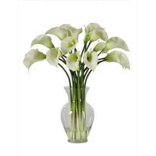 Calla Lily Cream Silk Flower Arrangement 1125 CR