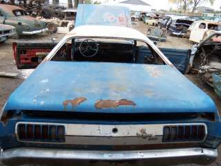 70 71 72 73 74 75 76 DODGE DEMON DART SPORT PLYMOUTH DUSTER TRUNK DECK