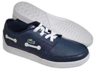 LACOSTE Men Shoes Cabestan Cup Dark Blue Shoes