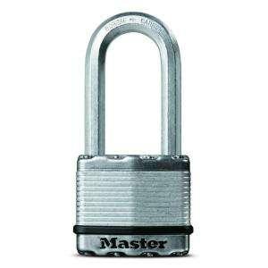 Master Lock Magnum 2 Laminated Padlock with 2 1/2 Shackle   Keyed